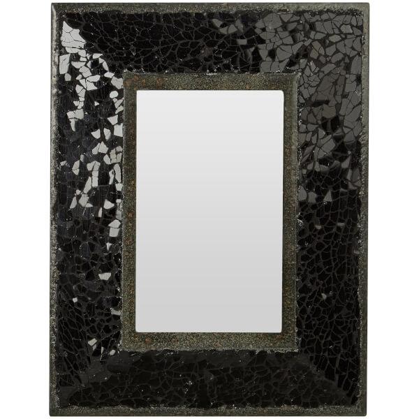 Opulence Mosaic Photo Frame 4 x 6 - Black