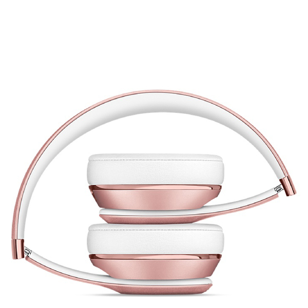beats by dr dre solo3 wireless bluetooth on ear headphones rose gold electronics. Black Bedroom Furniture Sets. Home Design Ideas