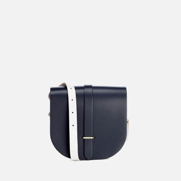 The Cambridge Satchel Company Women's Saddle Bag - Navy / Clay