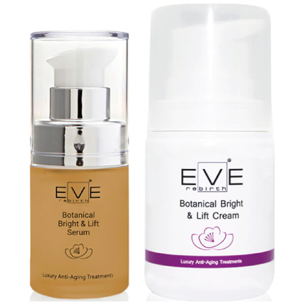 Eve Rebirth Botanical Bright & Lift Serum + Botanical Bright & Lift Cream