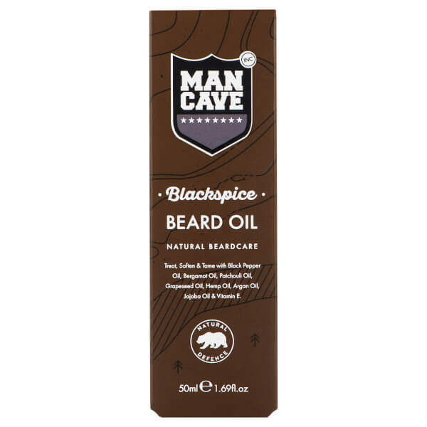 ManCave Beard Oil - Blackspice 50ml