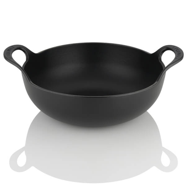 Le Creuset Signature Cast Iron Balti Dish 24cm Satin Black Image 1