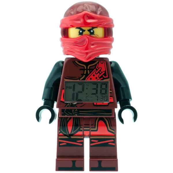 LEGO Ninjago: Time Twins Kai Minifigure Clock