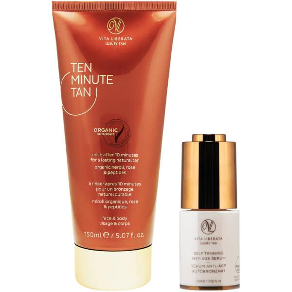 Vita Liberata Ten Minute Tan & Serum Set (Worth £59.90)