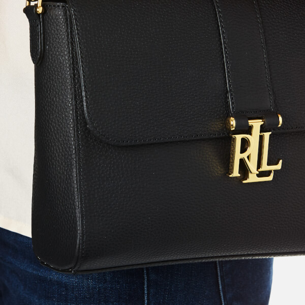 76cfba38101c Lauren Ralph Lauren Women s Carrington Gabbi Shoulder Bag - Black  Image 3