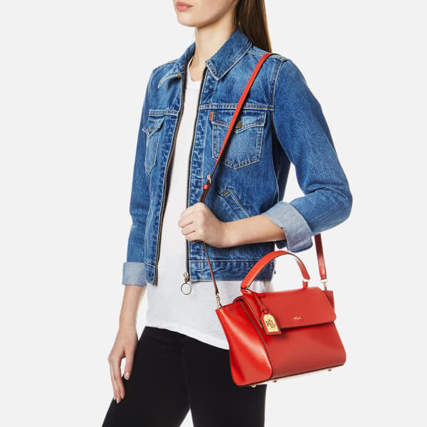 4277f3c8e245 Ralph Lauren Women s Barclay Cross Body Bag - Cayenne  Image 2