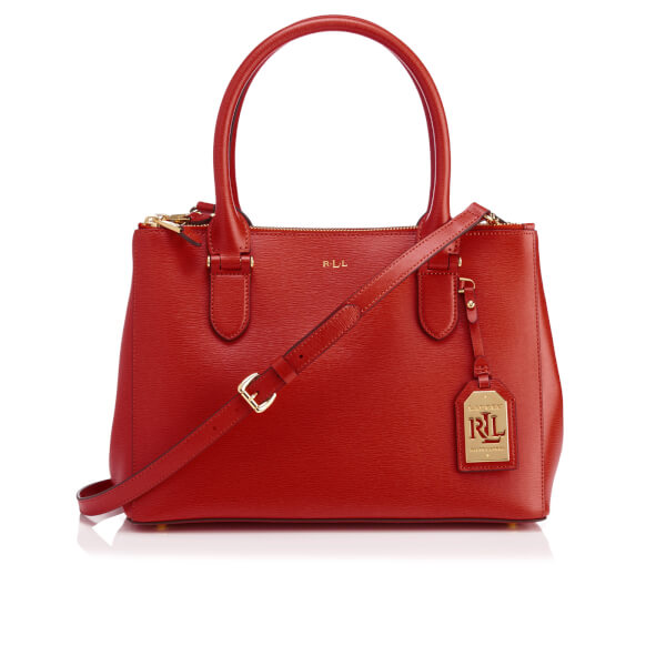Ralph Lauren Women's DB Zip Shopper Bag - Cayenne