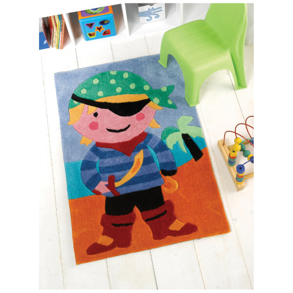 Tapis Flair Kiddy Play Rugs - Pirates (70X100)