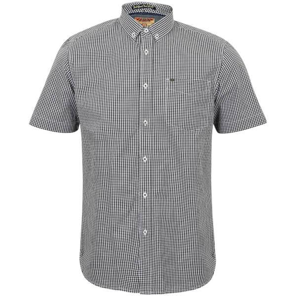 Tokyo Laundry Men's Lorente Short Sleeve Shirt - Black