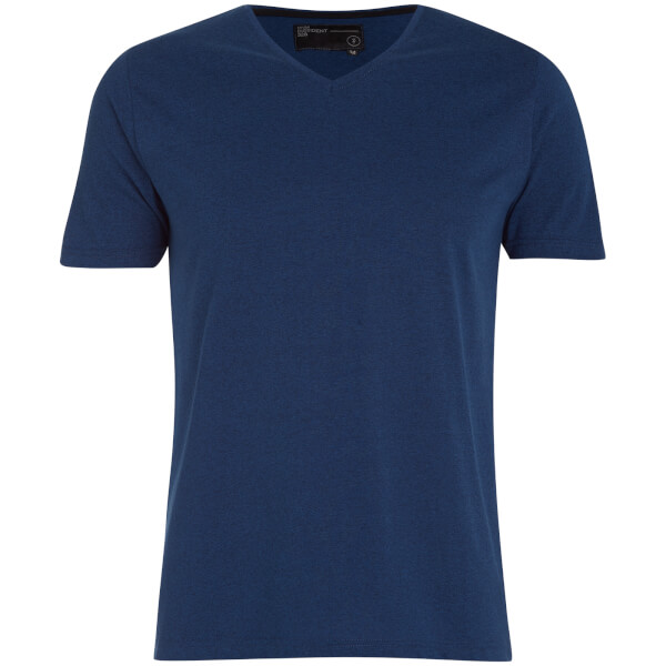Dissident Men's Guilford V-Neck T-Shirt - Bijou Blue