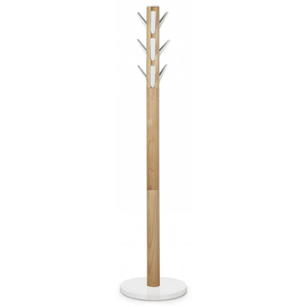 Umbra Flapper Coat Rack White Natural Homeware Thehut Com