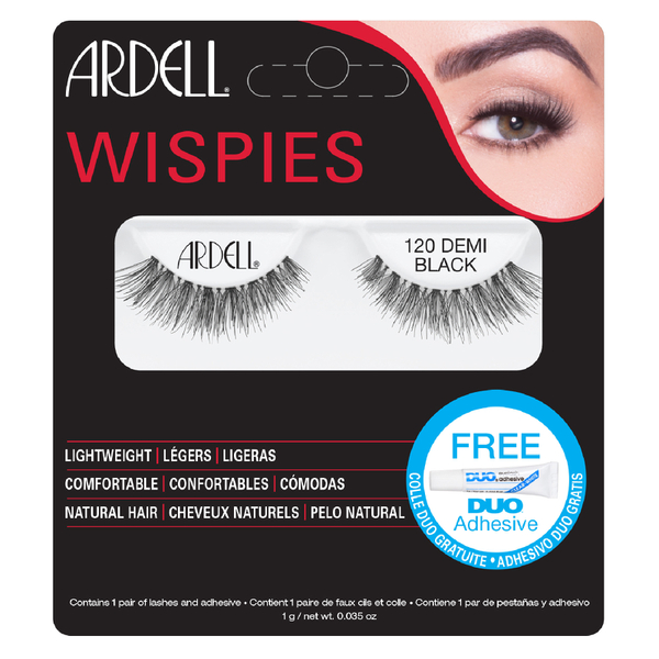Ardell Demi Wispies False Eyelashes - 120 Black