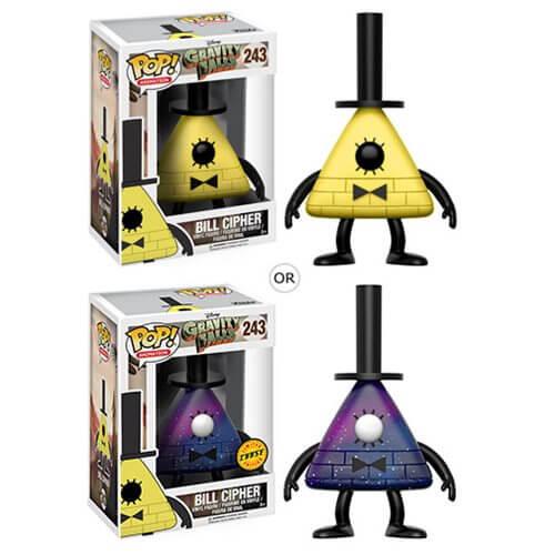 Figurine Funko Pop! Souvenirs de Gravity Falls Bill Crypto