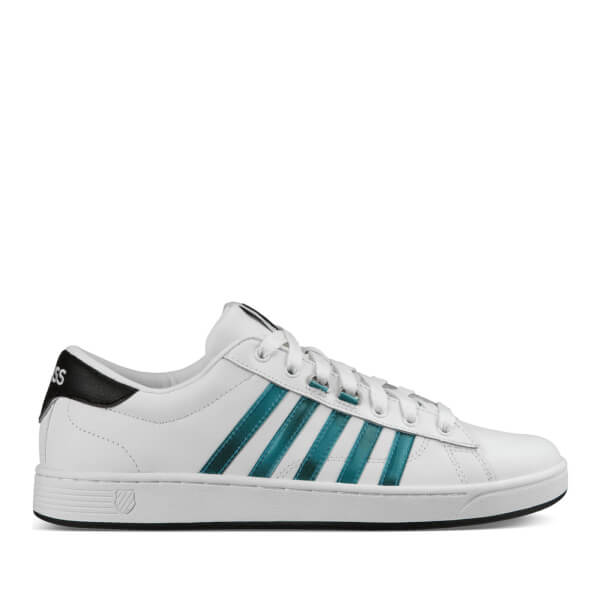 K-Swiss Men's Hoke CMF Trainers - White/Black/Harbour Blue: Image