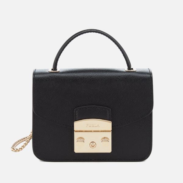 Furla Women's Metropolis Mini Top Handle Bag - Black