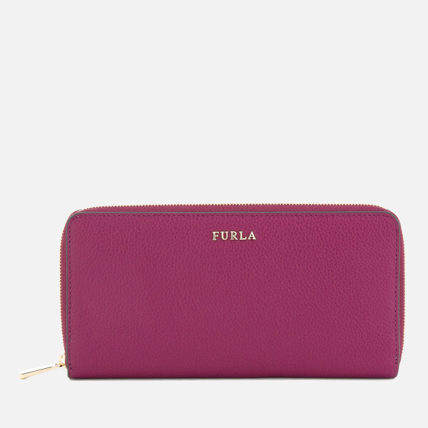 Furla Women's Babylon XL Zip Around Bag - Pink