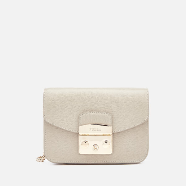 Furla Women's Metropolis Mini Cross Body Bag - Cream