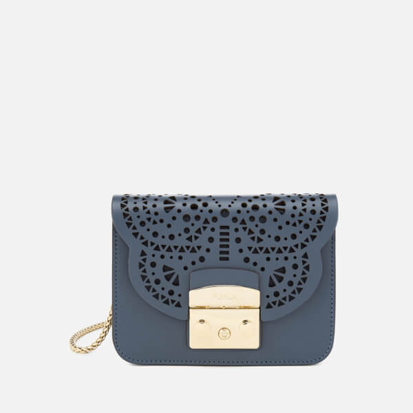 Furla Women's Metropolis Bolero Mini Cross Body Bag - Blue