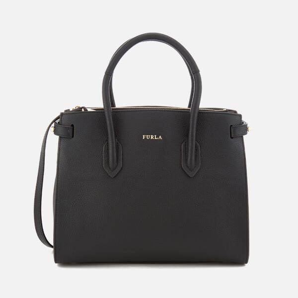 Pin tote bag - Black Furla 8ZHpB
