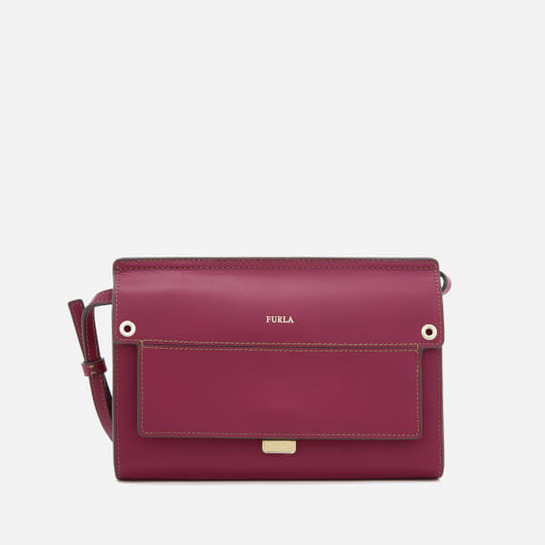 Furla Women's Like Mini Cross Body Bag - Pink