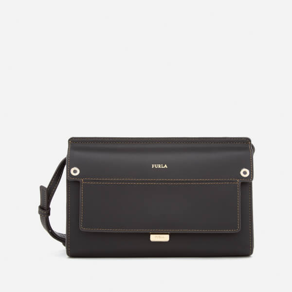 Furla Women's Like Mini Cross Body Bag - Black