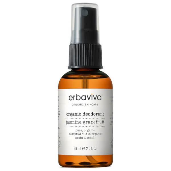 Erbaviva Travel Jasmine Grapefruit Organic Deodorant