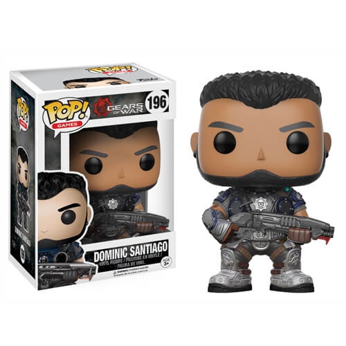Figurine Funko Pop! Gears of War Dominic Santiago