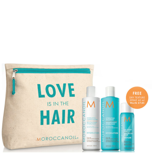 Moroccanoil Love is in The Hair Hydrating Gift Pack