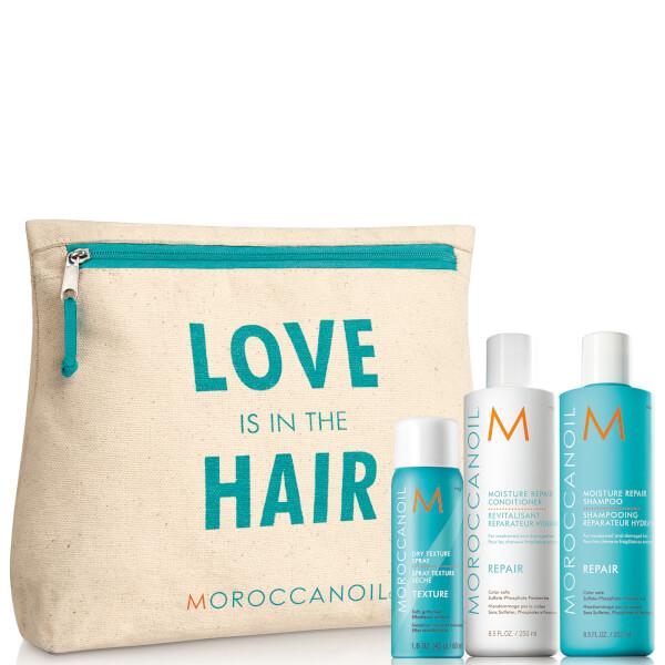 Moroccanoil Love is in The Hair Repair Gift Pack