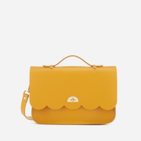 The Cambridge Satchel Company Women's Small Cloud Bag - Mustard Celtic Grain