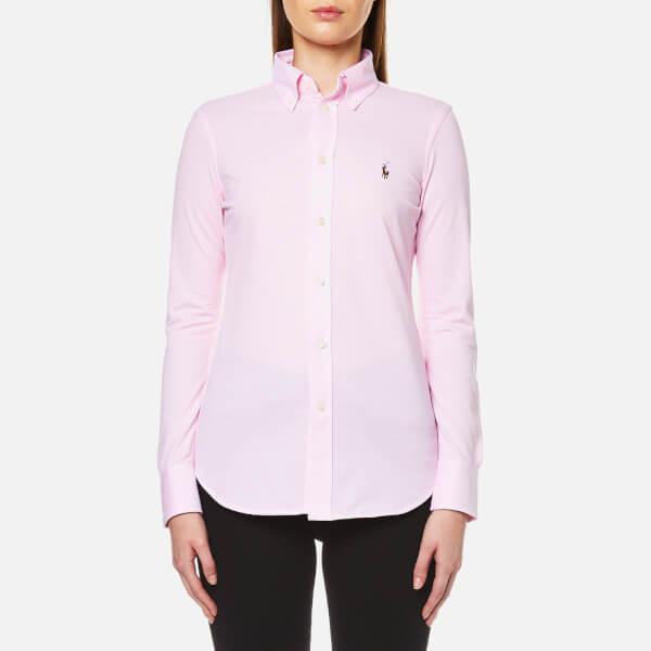 Polo Ralph Lauren Women's Heidi Skinny Fit Stretch Shirt - Carmel Pink