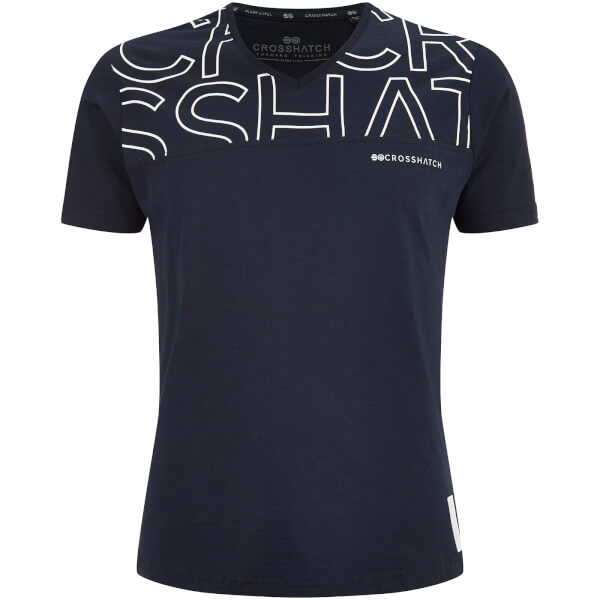 Crosshatch Men's Bellatrix T-Shirt - Night Sky