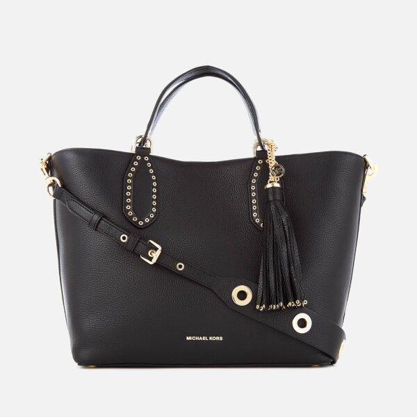 MICHAEL MICHAEL KORS Women's Brooklyn Large Grab Bag - Black