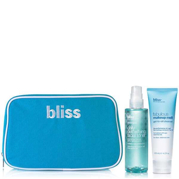 bliss Fabulous Make Up Cleanser Toner Duo