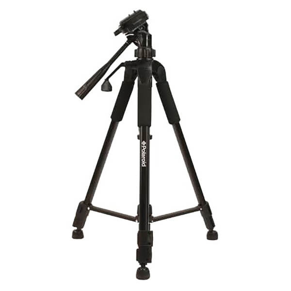 Polaroid 57 Inch Tripod (With Free Carry Case) - Black