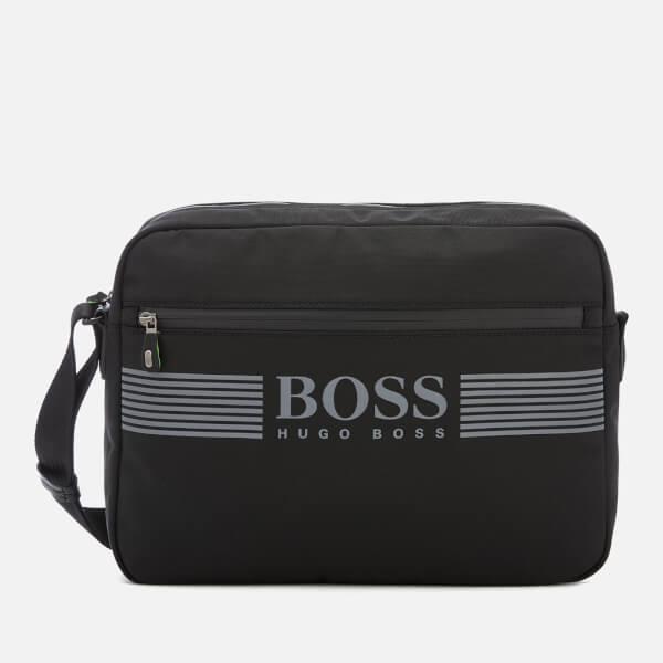 BOSS Green Men's Pixel Small Messenger Bag - Black