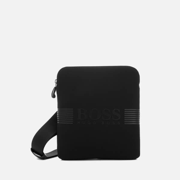 BOSS Green Men's Pixel North South Zip Bag - Black