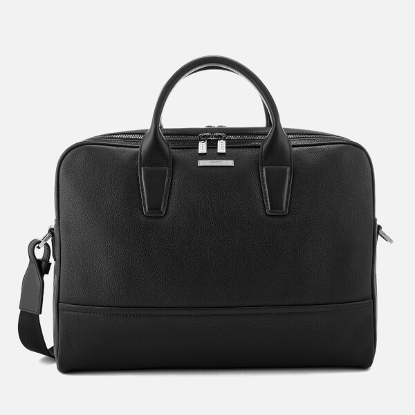 HUGO Men's Element Document Bag - Black