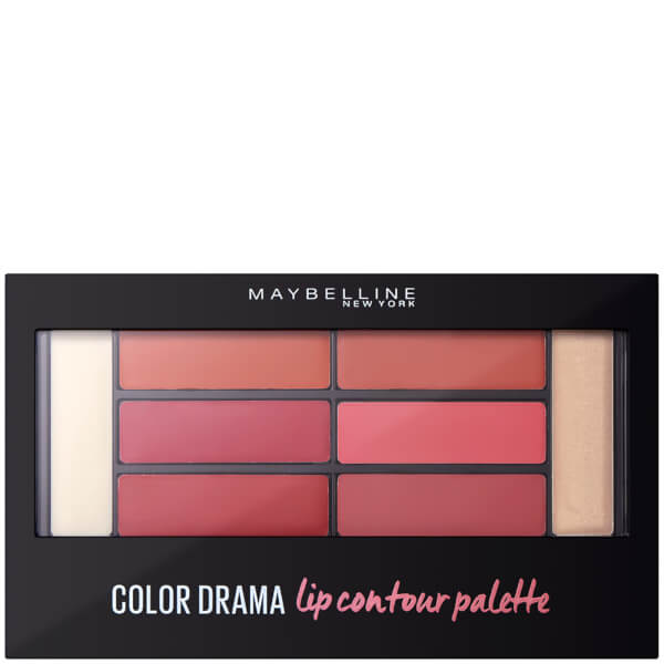 Maybelline Colour Drama Lip Contour Palette 4g - Blushed Bombshell