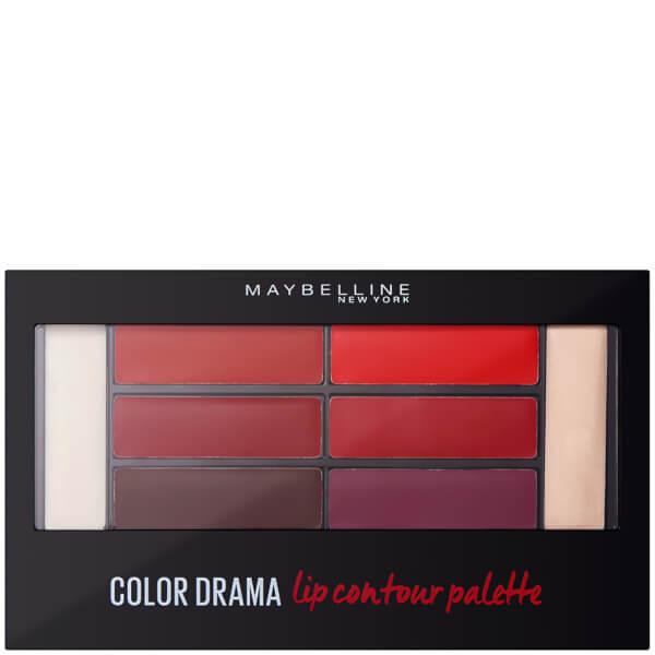 Maybelline Colour Drama Lip Contour Palette 4g - Crimson Vixen