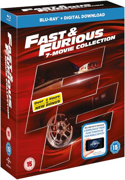 fast furious 1 7 bonus disc blu ray. Black Bedroom Furniture Sets. Home Design Ideas