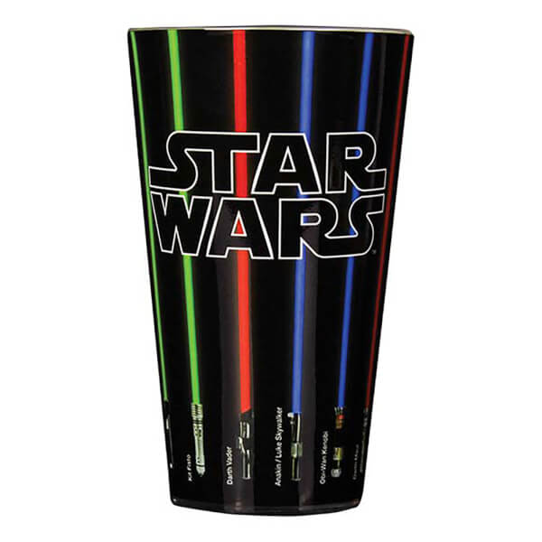 Verre Star Wars Sabre Laser - Verre Noir