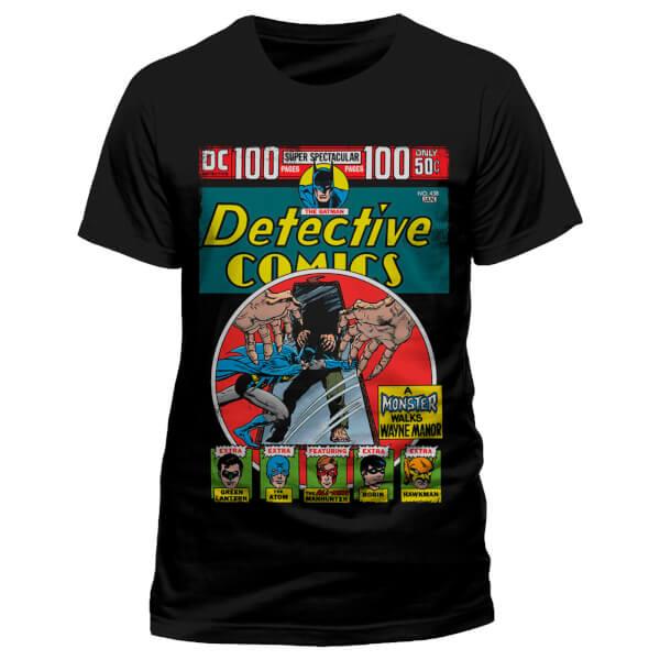 T-Shirt Homme Batman Detective Comics DC Comics - Noir