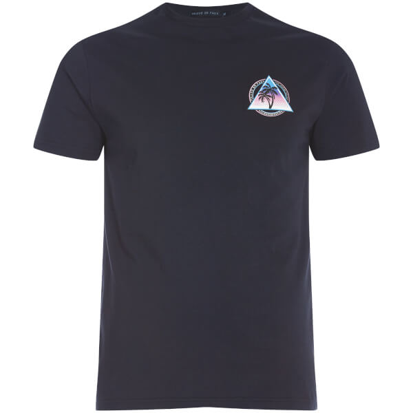 Friend or Faux Men's Pyramid T-Shirt - Navy