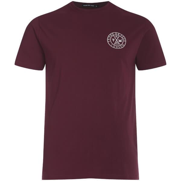 T-Shirt Homme Tremer Friend or Faux -Bordeaux
