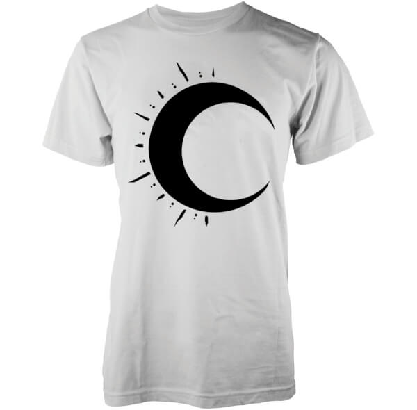 T-Shirt Homme Bleeding Moon Lune Abandon Ship - Blanc