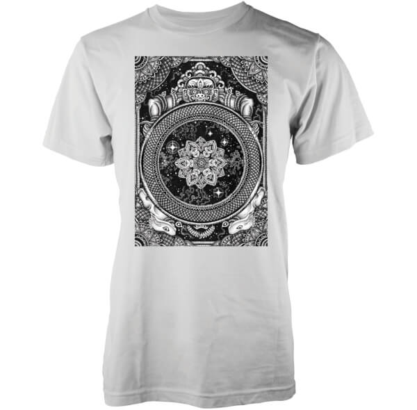 Abandon Ship Men's Jen X Mandala T-Shirt - Black
