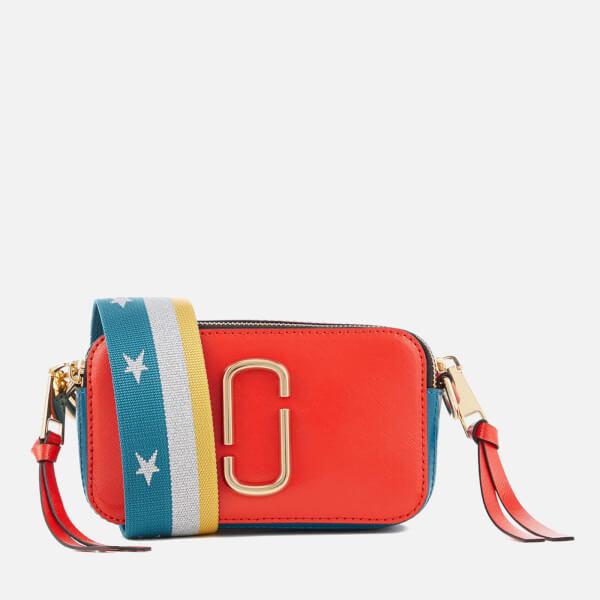 Marc Jacobs Women's Snapshot Cross Body Bag - Lava Red Multi
