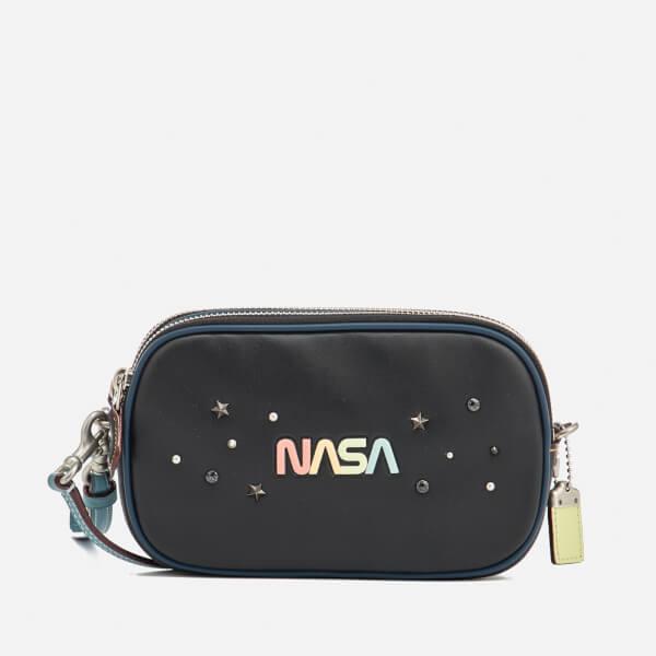 b3c3a92e222 Coach 1941 Women's Space Embellishment Cross Body Bag - Black: Image 1