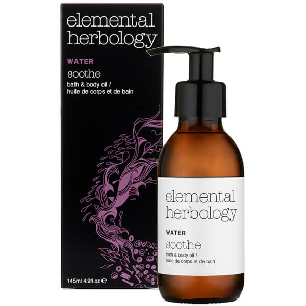 Elemental Herbology Water Soothe Bath and Body Oil 145ml